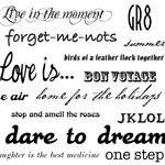 Clip Art Phrases