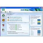The detailed antivirus configuration console