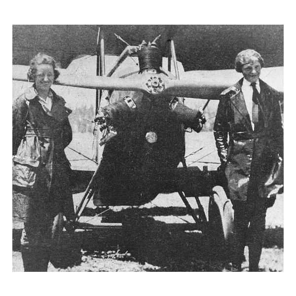 Amelia Earhart and The Canary
