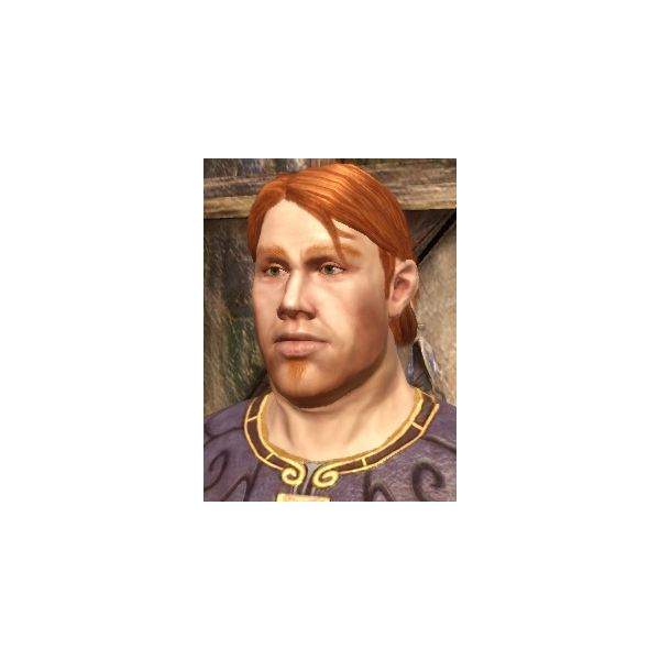 Slim Couldry (Image from Dragon Age: Origins Wikia https://dragonage.wikia.com/wiki/Dragon_Age:_Origins)
