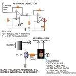 RF Signal Detector, Circuit Diagram, Image