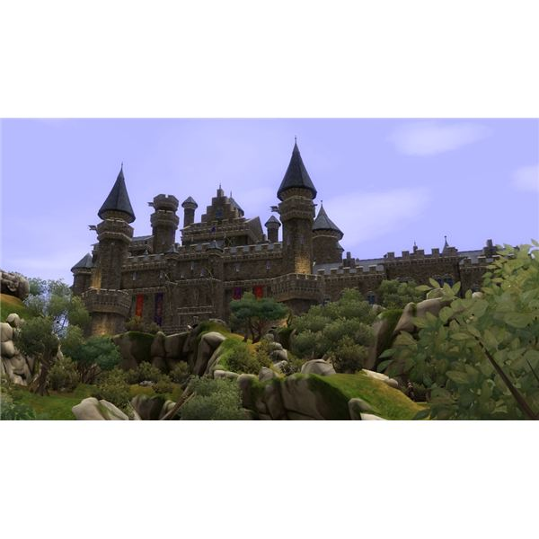 The Sims Medieval Castle
