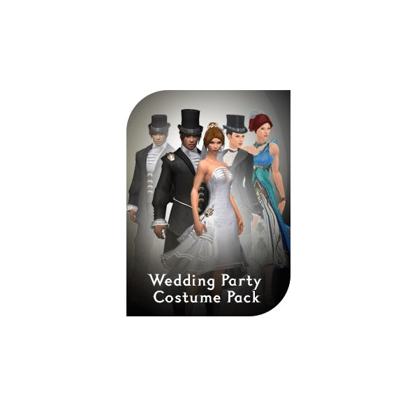 Wedding Party Costume