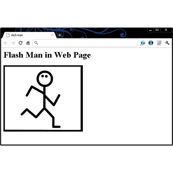 How to Add a Flash Element to a Web Page