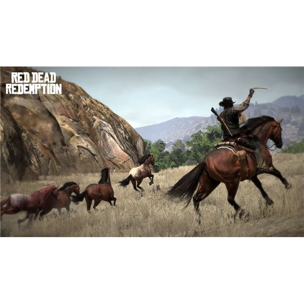 Lasso Wild Horses In Red Dead Redemption