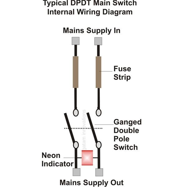 spst toggle switch wiring diagram  | brighthubengineerin…