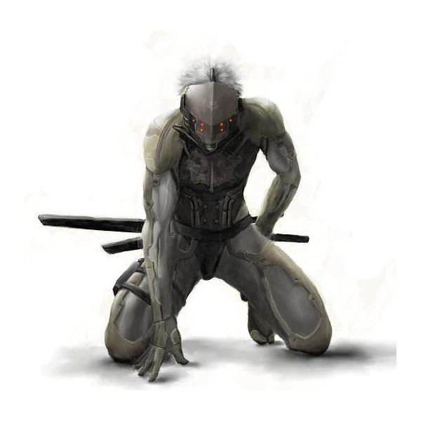 Metal Gear - Raiden Reinvented For MGS4