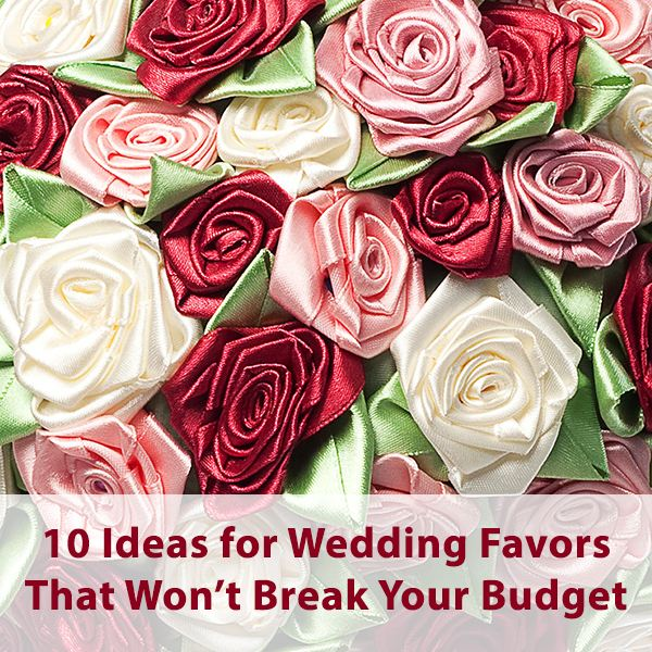 Try Some Of These Wedding Favors That Won