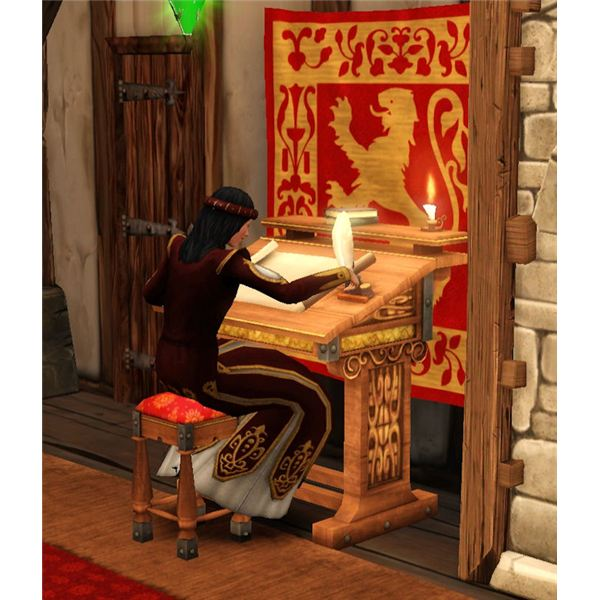 The Sims Medieval Merchant Balancing Books