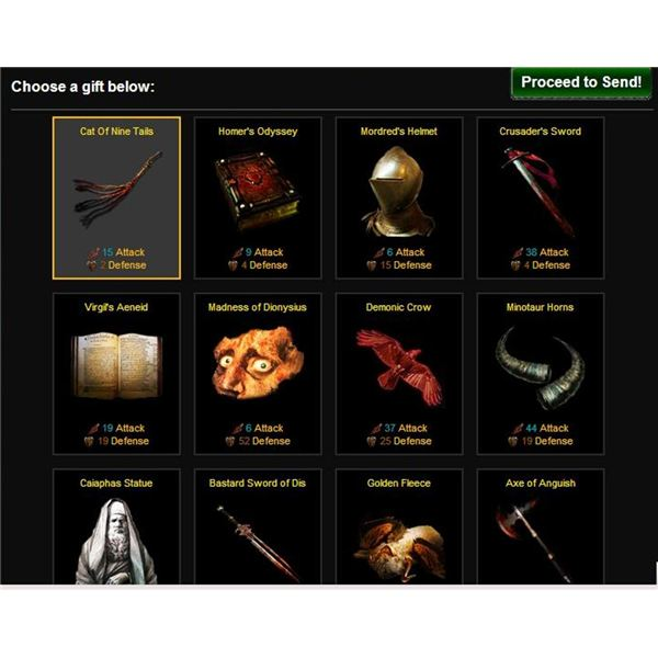 Dante's Inferno Gift Items