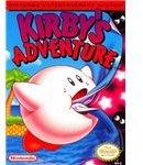 Kirby's Adventure - Original NES Box Art