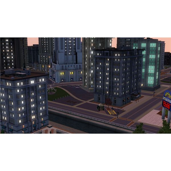 The Sims 3 Bridgeport Downtown
