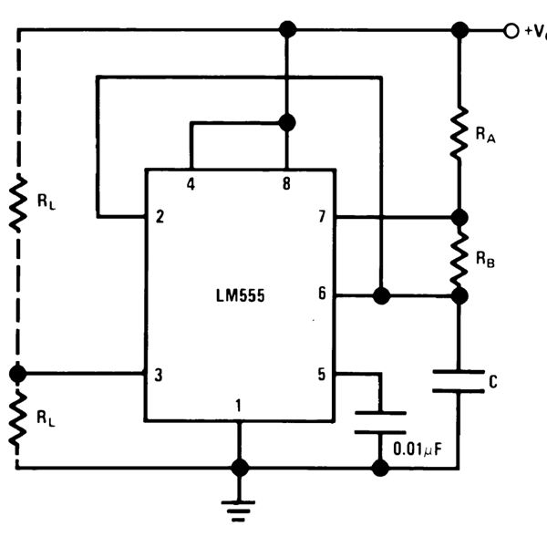 Circuit Diagram Of Astable Multi | Best Of 555 Timer Application Circuits Explained