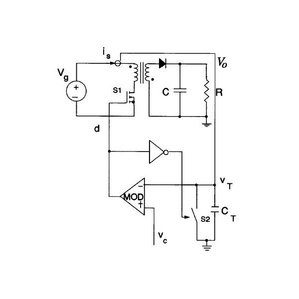 Flyback Converter with Charge Control. Credit: Tang et al, IEEE 1993.