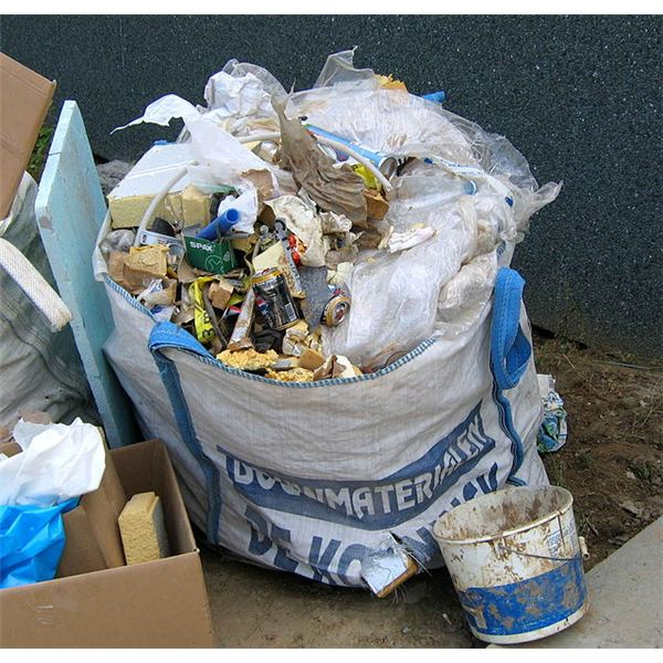 how to get rid of construction waste
