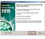 Kaspersky Internet Security Installation