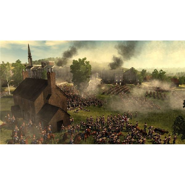 Form a square to defend against cavalry in Napoleon: Total War