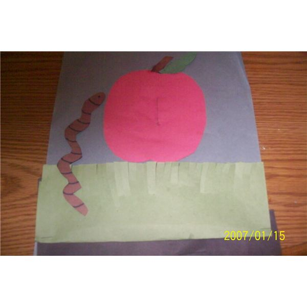 new wiggly worm craft 001