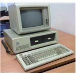 An early IBM PC, the 5150 launched in 1981