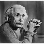 Portrait of Albert Einstein photographed by Yousuf Karsh