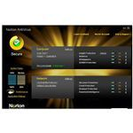 Screenshot Norton Antivirus Home Screen