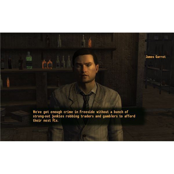Fallout: New Vegas Walkthrough - James Garrett Can Offer His Stills to the Followers of the Apocalypse