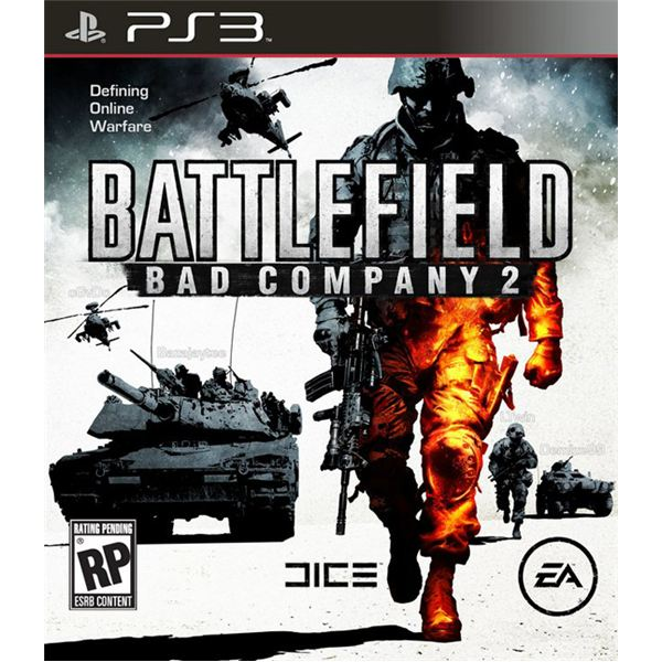 Battlefield: Bad Company 2 PS3 Cover