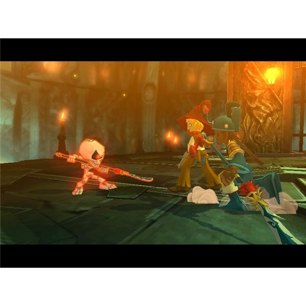 Working with a Taoist to fight a boss