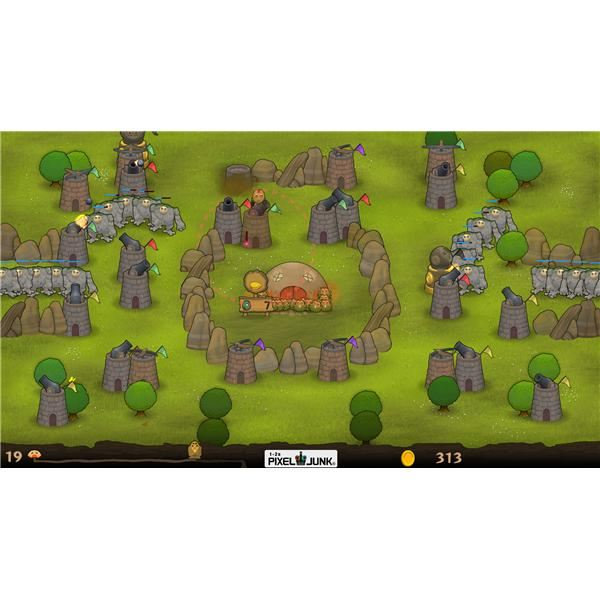 A Revew of PixelJunk Monsters, a Tower Defense Game for the PlayStation 3 Available on the PlayStation Network : It's a Bargain for $10