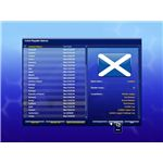Choosing your international team to manage in Championship Manager 2010