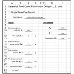 Outlet Control Design Pipe US units