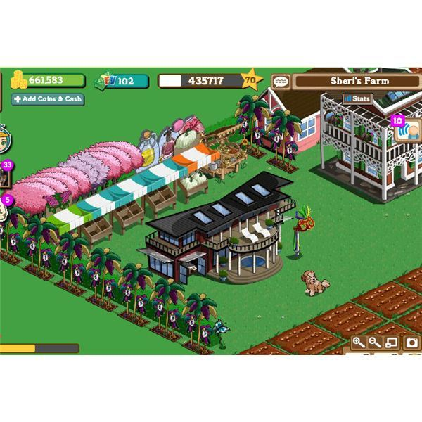 FarmVille graphics