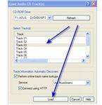 WavePad - Select Audio CD Track