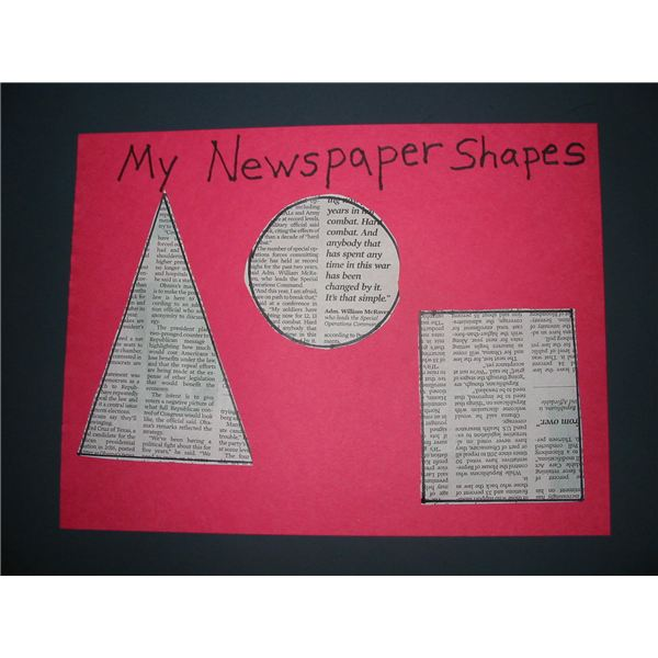 Newspaper Shapes