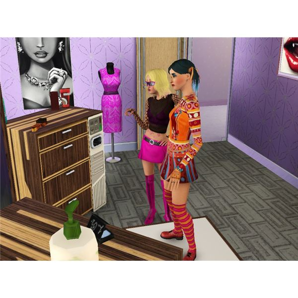 Sims 3 Hair and Fashion Career Guide