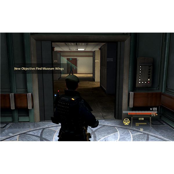 Alpha Protocol Walkthrough Rome - Museum - Getting Past the Guards