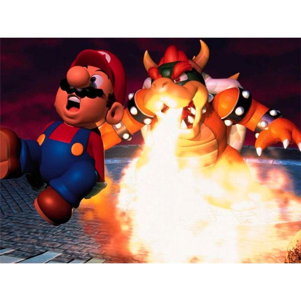 Mario and Bowser: Icons in Video Game Rivalry