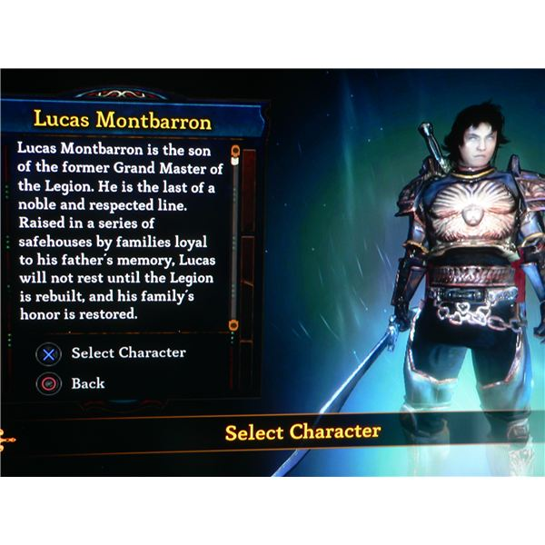 Dungeon Siege 3 Lucas Guide (PS3)