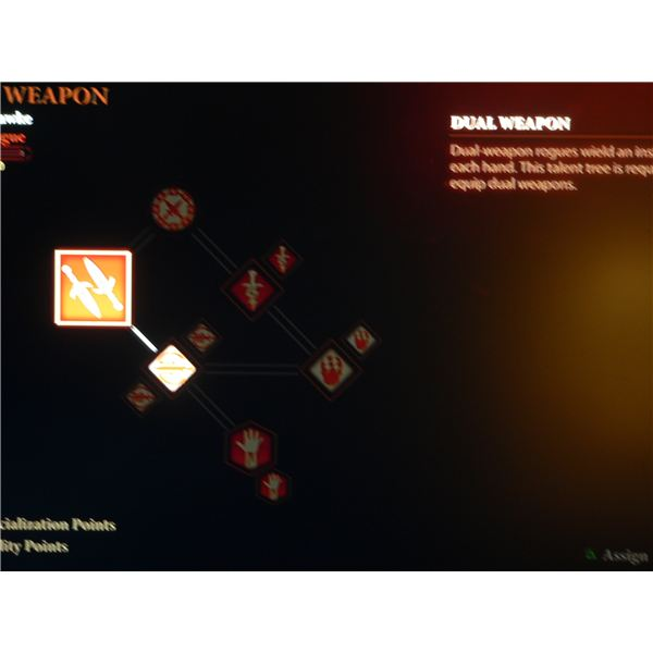 A guide to the Rogue class in Dragon Age 2: The Dual Wield skill tree.