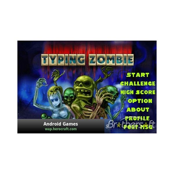 typing zombie