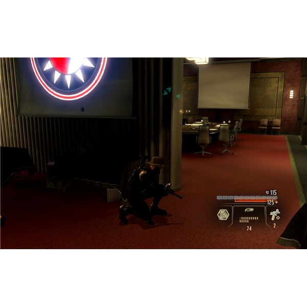 Alpha Protocol Walkthrough - The Agents in the Conference Room