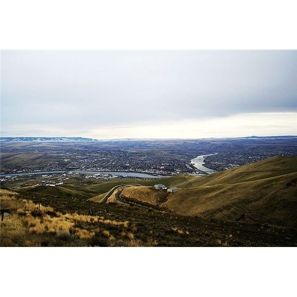 Lewiston Idaho Where Sal Says Goodbye to her Mother