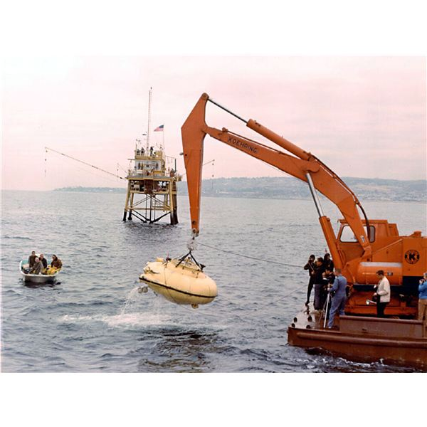 Jacque Cousteau's Diving Saucer