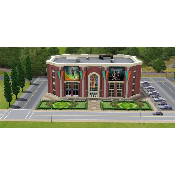 The Sims 3 sports complex