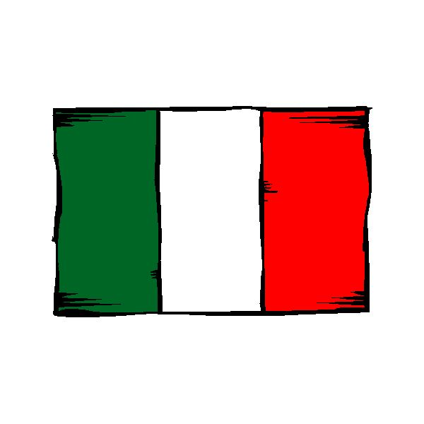 Speaking italian words phrases for kids made easy their italian flag own m4hsunfo