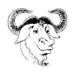 GNU Head, logo of the GNU project and the Free Software Foundation
