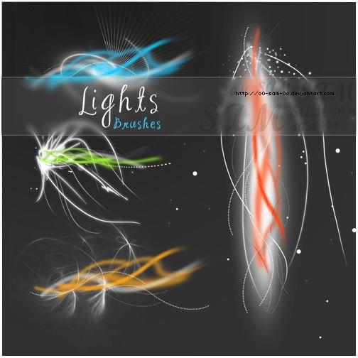 brushes lights by o0 SaM 0o