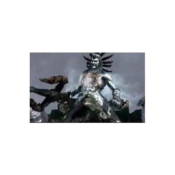 God of War 2 screenshot - Poseidon