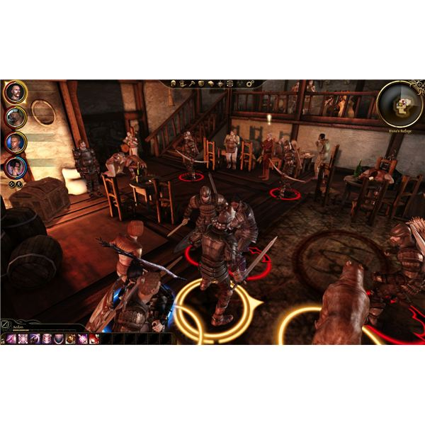 Dragon Age: Origins - Loghain's Troops in the Tavern