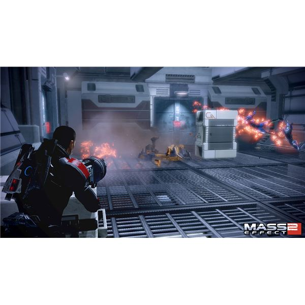 Mass Effect 2 weaponry looks very sharp